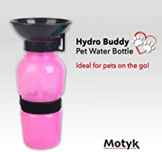 QMADIX MOTYK Portable Dog Water Bottle for Walking Hiking and Traveling, BPA-Free Material Leak-Tight
