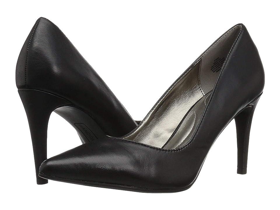 Bandolino Fatin Heel (Black Leather) High Heels