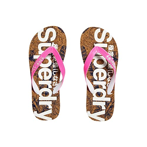 49b4e53074cf0f Superdry Women s Printed Cork Flip Flop