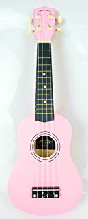 21inch Mike ukulele with bag and strap picks (pink)