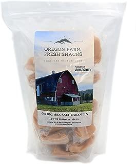 Oregon Farm Fresh Snacks - Oregon Vanilla Sea Salt Caramels (16 oz)
