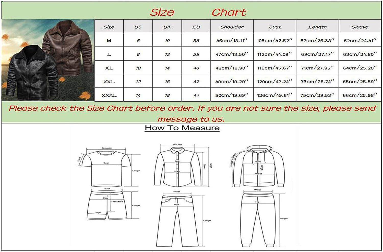 Men's PU Leather Jacket Causal Belted Faux Leather Motorcycle Jacket Zipper Biker Coat Outwear