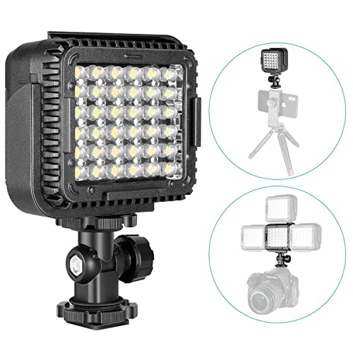 Neewer CN-LUX360 3200K-5600K Lámpara Regulable de Luz de Video LED para Canon