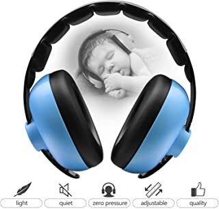 Baby Ear Defenders Baby Hearing Protection Earmuffs, Noise Reduction Headphone for Baby and Child, Baby Earmuffs(Ages 3-24+ Months), Soft & Adjustable, Baby Ear Protection