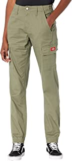 Dickies Slash Pocket Cargo Utility Joggers Lightweight Twill Relaxed Fit