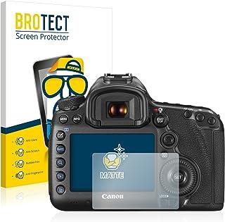 BROTECT Protector Pantalla Anti-Reflejos Compatible con Canon EOS 5DS / 5DS R (2 Unidades) Pelicula Mate Anti-Huellas
