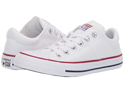 Converse Chuck Taylor(r) All Star(r) Madison True Faves Ox (White/Natural Ivory/White) Women