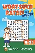Wortsuchrätsel für Kinder: Wortgitter Rätselheft mit 50 Buchstabenrätsel l sehr leichte Rätsel l mit Lösungen l ca. Din A5...