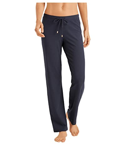 Hanro Essentials Long Pants (Smoky Blue) Women