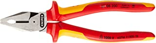 KNIPEX Tools - High Leverage Combination Pliers, 1000V Insulated (0208200US), 8 inches