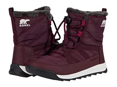 SOREL Kids Whitneytm II Short Lace (Little Kid/Big Kid) (Epic Plum) Kids Shoes
