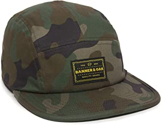 Trailhead Woven Label Patch Camper Style Hat - Adjustable Baseball Cap w/Tuck Closure