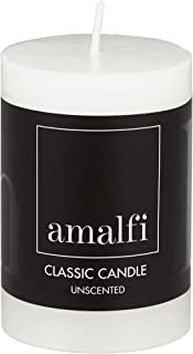 Amalfi Classic Unscented Pillar Candle