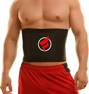 featured product Fitru Waist Trimmer Weight Loss Ab Belt for Women & Men - Waist Trainer Stomach Wrap