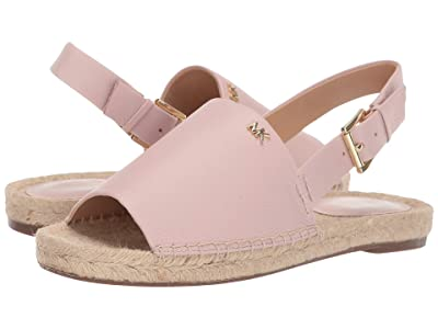 MICHAEL Michael Kors Fisher Espadrille (Soft Pink Tumbled Leather) Women