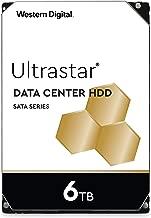 Western Digital 6TB Ultrastar DC HC310 SATA HDD - 7200 RPM Class, SATA 6 Gb/s, 256MB Cache, 3.5