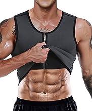 LaLaAreal Faja Reductora Adelgazante Hombre Neopreno Camiseta Reductora Compresion de Sauna Deportivo