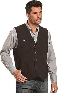 Wyoming Traders Men's Grey Wool Vest