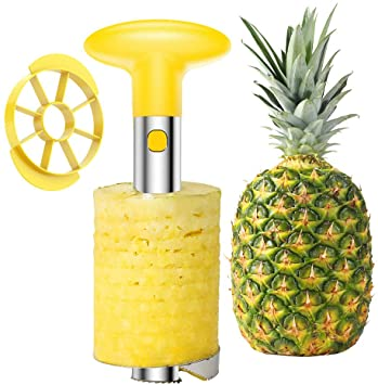 Stainless Steel Fruit Pineapple Peeler/Corer/Slicer/Cutter