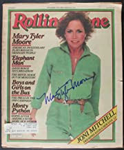 Mary Tyler Moore (d. 2017) Signed Autographed Complete Vintage 1980