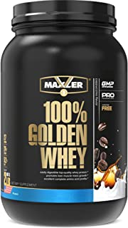 Maxler 100% Golden Whey Protein - 24g of Premium Whey Protein Powder per Serving - Pre, Post & Intra Workout Recovery - Fa...