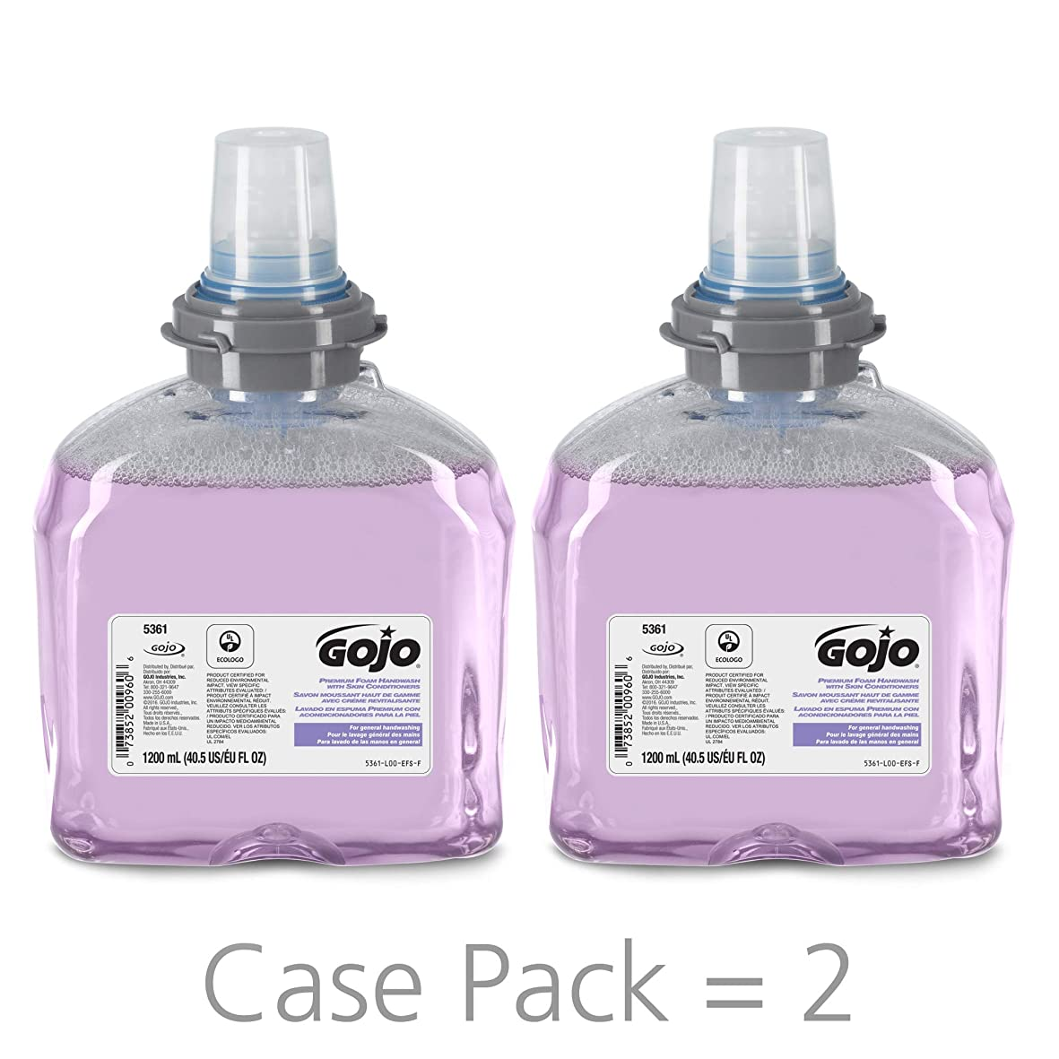 ストレッチ廃棄する幾分TFX Luxury Foam Hand Wash, Cranberry, Dispenser, 1200ml (並行輸入品)