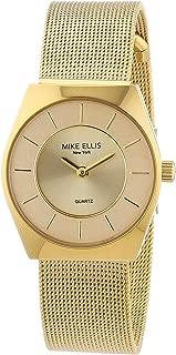 Mike Ellis New York Women's Quartz Watch L1126AGM/1 L1126AGM/1 with Metal Strap