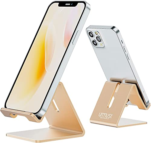 Desk Cell Phone Stand Holder Aluminum Phone Dock Cradle Compatible with Switch, All Android Smartphone, for iPhone 13...