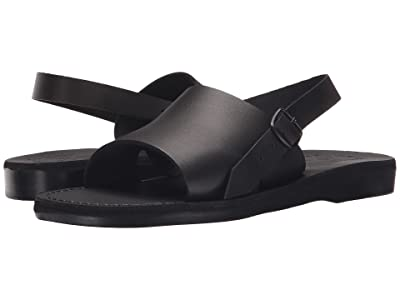 Jerusalem Sandals Aravah Mens (Black) Men