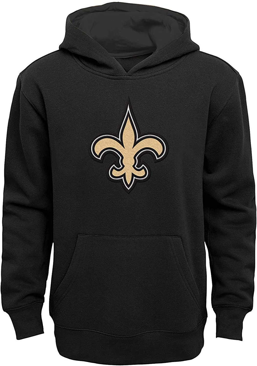 NFL Boys Youth 8-20 Team Color Primary Low price Pullover Credence Prime Logo Fleec