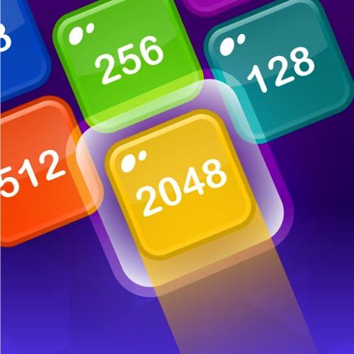 2048 Shoot & Merge   Number Drop Puzzle Game