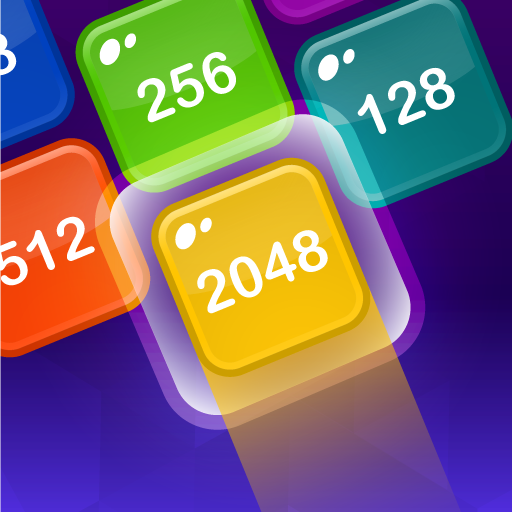 2048 Shoot & Merge - Number Drop Puzzle Game