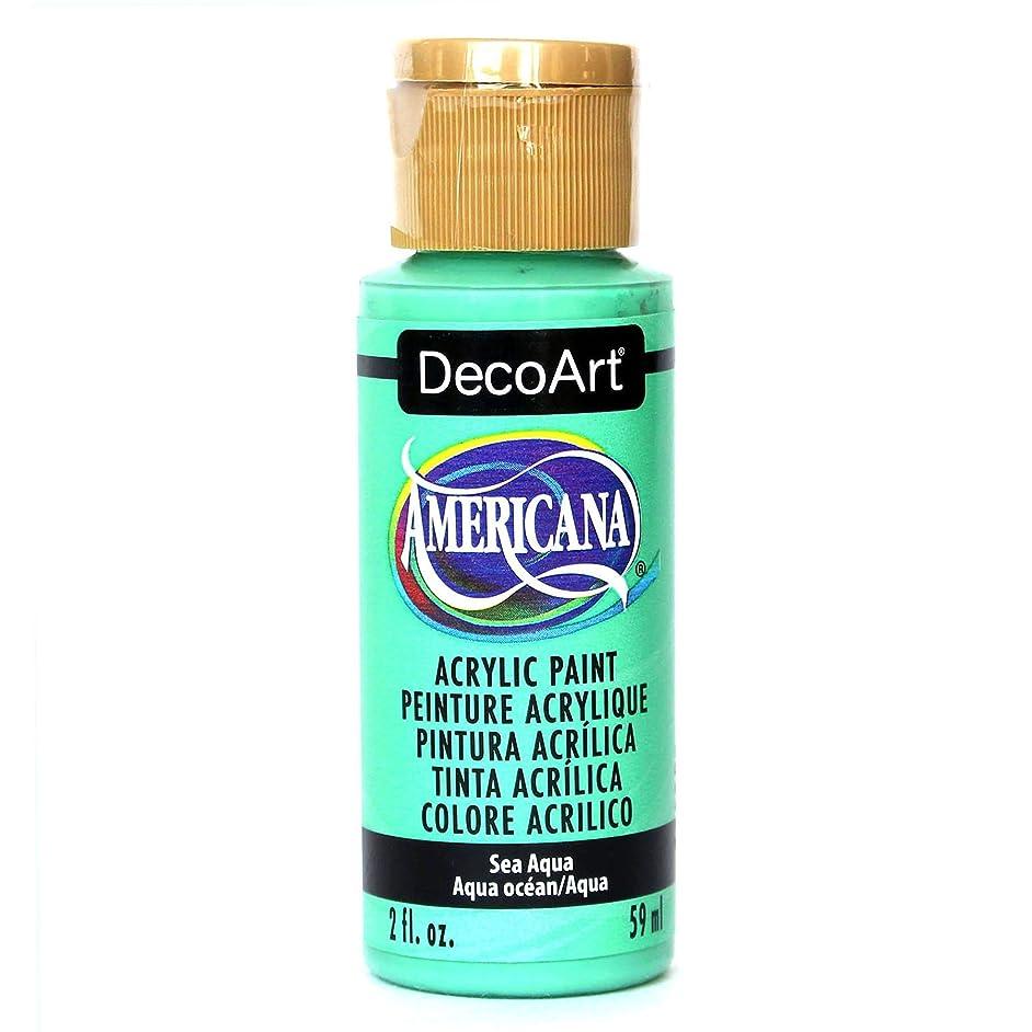 DecoArt Americana Acrylic Paint, 2-Ounce, Sea Aqua