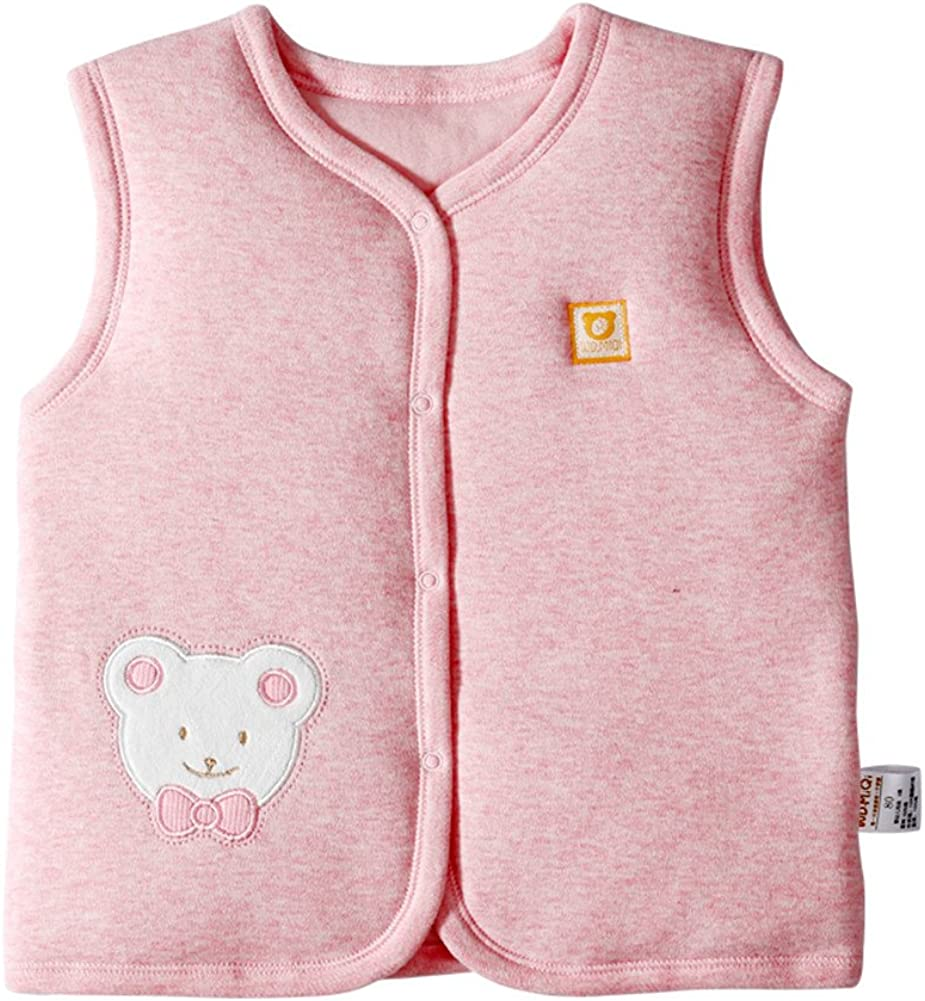 Very popular Monvecle Unisex Baby Cotton Warm Popular Toddler Infant Vests to