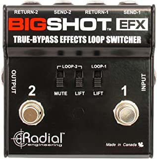 Tonebone Bigshot EFX mezclador de efectos de guitarra, color negro