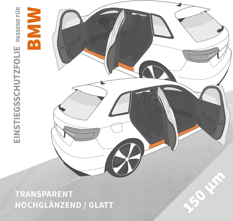 transparent Einstiegsleistenschutzfolie /› passgenau f/ür BMW 1er F20 Einstiegsschutz Folie F21 Facelift BJ 02//2015-09//2019 2-teilig f/ür 3-T/ürer