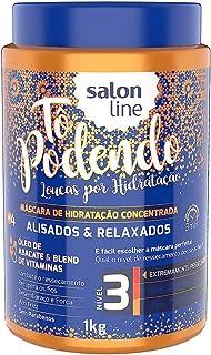 Creme Tratamento 1 kg Tô Podendo Alisados e Relaxados Nl3 Unit, Salon Line