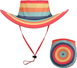 BEEN THERE BRAND Twist-and-Fold Hat & Carry Pouch| Travel, Event, Concert & Parade Sun Hat| Men & Women