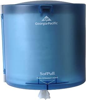 SofPull Centerpull High-Capacity Paper Towel Dispenser by GP PRO (Georgia-Pacific), Splash Blue, 52109, 10.875