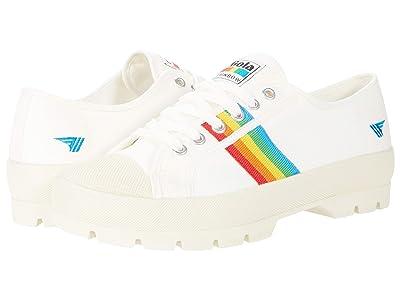 Gola Coaster Peak Rainbow (Off-White//Multi) Women