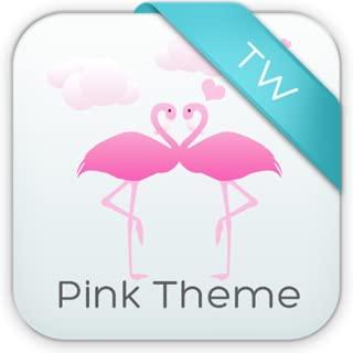 Keypad Pink Birds Theme