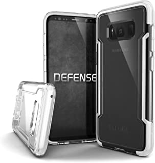 X-Doria Samsung Galaxy S8 Case, Defense Clear - Military Grade Drop Protection, Clear Protective Case for Samsung Galaxy S8, [White]