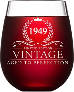 Best 70th birthday wine glass Reviews