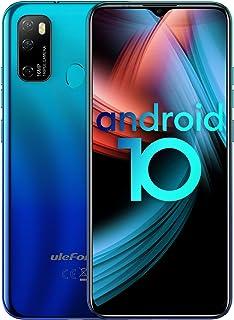 Ulefone Note 9Pスマートフォン本体 Android 10.0 SIMフリー スマホ本体 4GB RAM + 64GB ROM 6.52 FHDフルスクリーン 16MP+8MP 3眼カメラ 4500mAh モバイル 指紋認証&顔認証...
