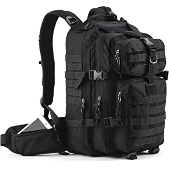 Gelindo Military Tactical Backpack, Army Molle Bag for Hunting, Camping, 35L