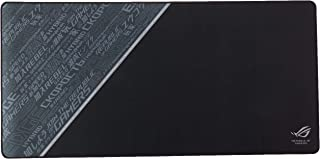 ASUS ROG Sheath Black Mouse Pad   Extra-Large Gaming Surface Mouse Pad   Pixel Precise Tracking   Anti-Fray Stitched Edges...