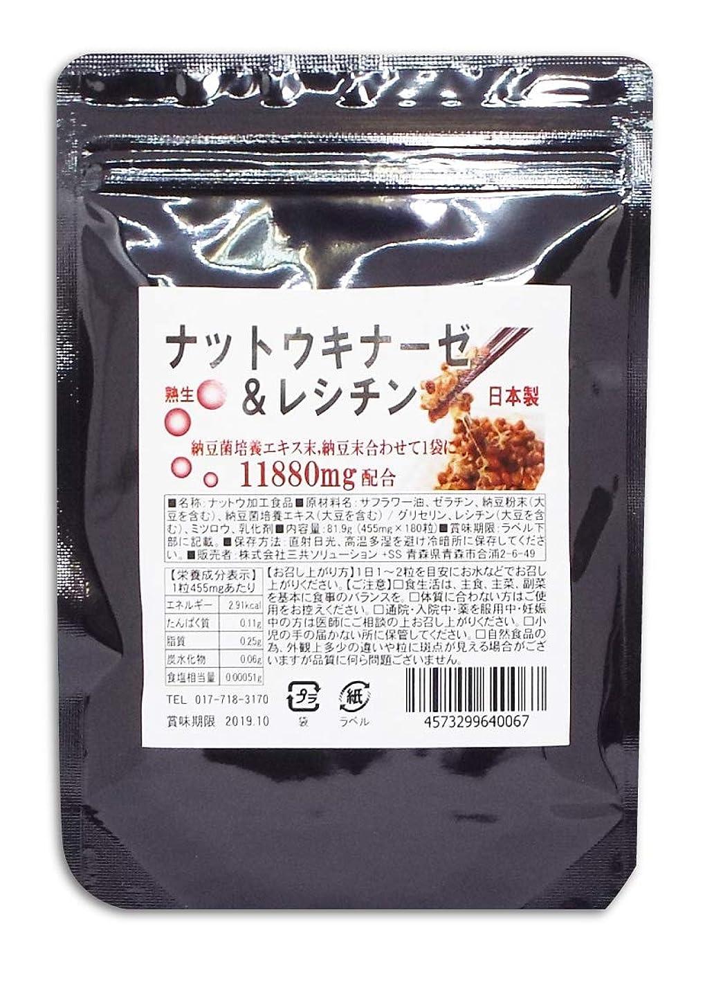 着服速報センブランスナットウキナーゼサプリ 納豆キナーゼ 大容量180粒 約6ヶ月分 納豆菌 ナットーキナーゼ サプリメント
