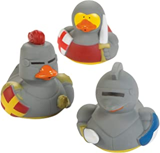 Fun Express - Medieval Rubber Duckies - Toys - Character Toys - Rubber Duckies - 12 Pieces