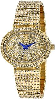 Christian Van Sant Women's Sparkler Quartz Stainless Steel Strap, Gold, 20 Casual Watch (Model: CV0251)