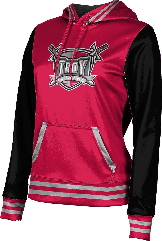 Troy University Girls' Pullover Hoodie, School Spirit Sweatshirt (Letterman)